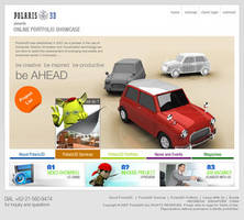 Polaris3D website by dehh by designerscouch