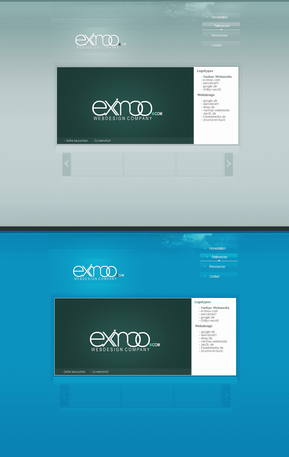 eximoo com by painsworld by designerscouch