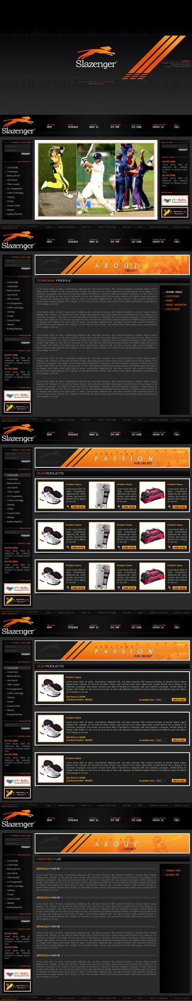 Slazenger by x-media by designerscouch