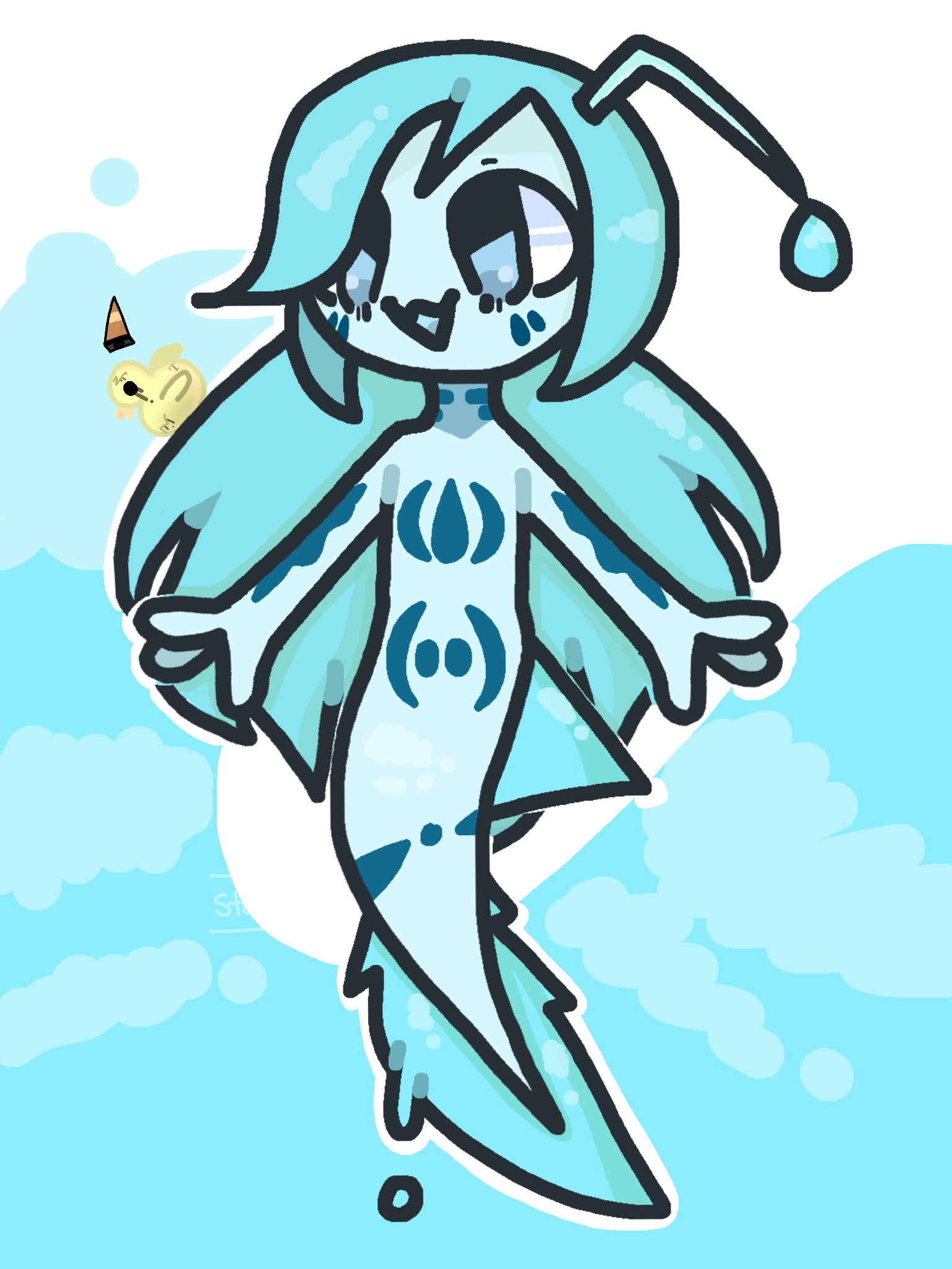 [ ART TRADE ] Achlys Actinium is out of the water!