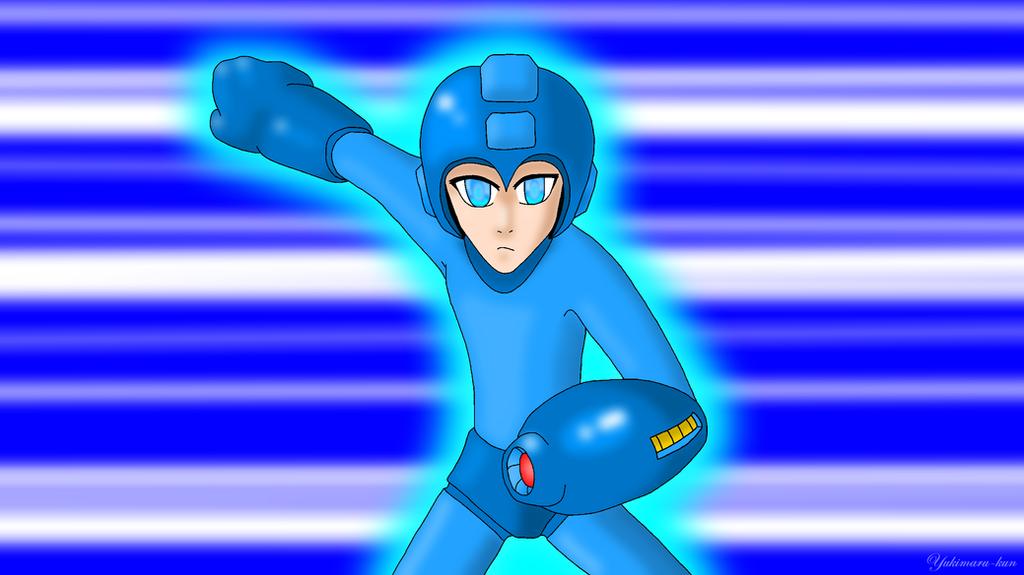 Megaman by Yukimaru-kun