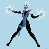 MK: Deadly Alliance - Frost by bewareofninja