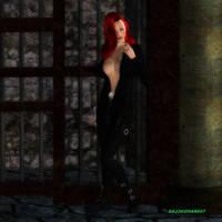 Crimson Ninja by ssj3gohan007
