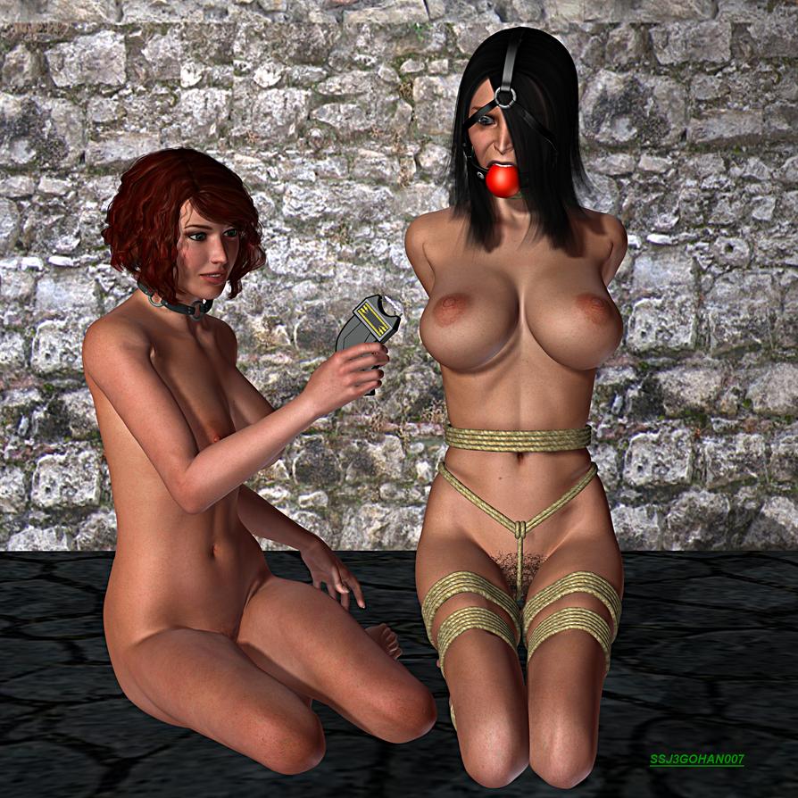 Sabrina vs Scarlet 8 by ssj3gohan007