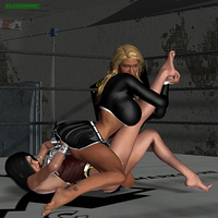 Wrestling Match - Sabrina vs Superior Woman 4