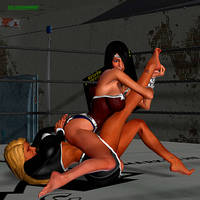 Wrestling Re-Match - Sabrina vs Superior Woman 4