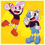 The Adventures of Cuphead and Mugman!