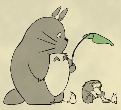 I_Feel_Happy_Totoro_Is_Here_by_Kuro_neko