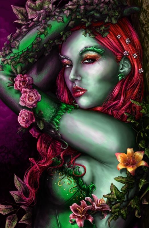 Poison Ivy by Kuro-neko-chan
