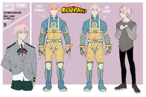 BNHA OC - Enmei / Encharge by pictorch
