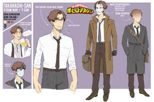 BNHA OC - Straw Man, T-San / Takahashi-San by pictorch