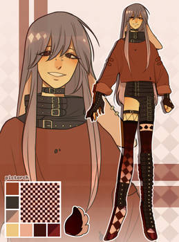 [OC] dainty MYO - belt man