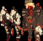 [OC] dainty MYO - Alina and queen of carnage