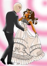 JCA OC Dance Scenes series01: Tiger Lily and Black by James-Li