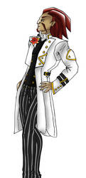 JCA Hak Foo tuxedo contest entry by James-Li