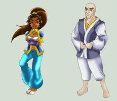 JCA OC - Streetfighter 07: Lily and Augustus by James-Li
