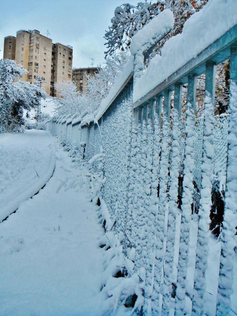 Frozen grilles by EvilOpal