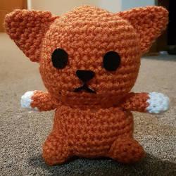 Orange Cat by Fullmetalwinry