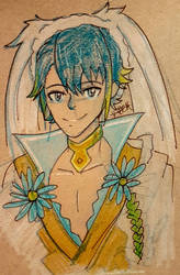 Spring Alfonse by Fullmetalwinry