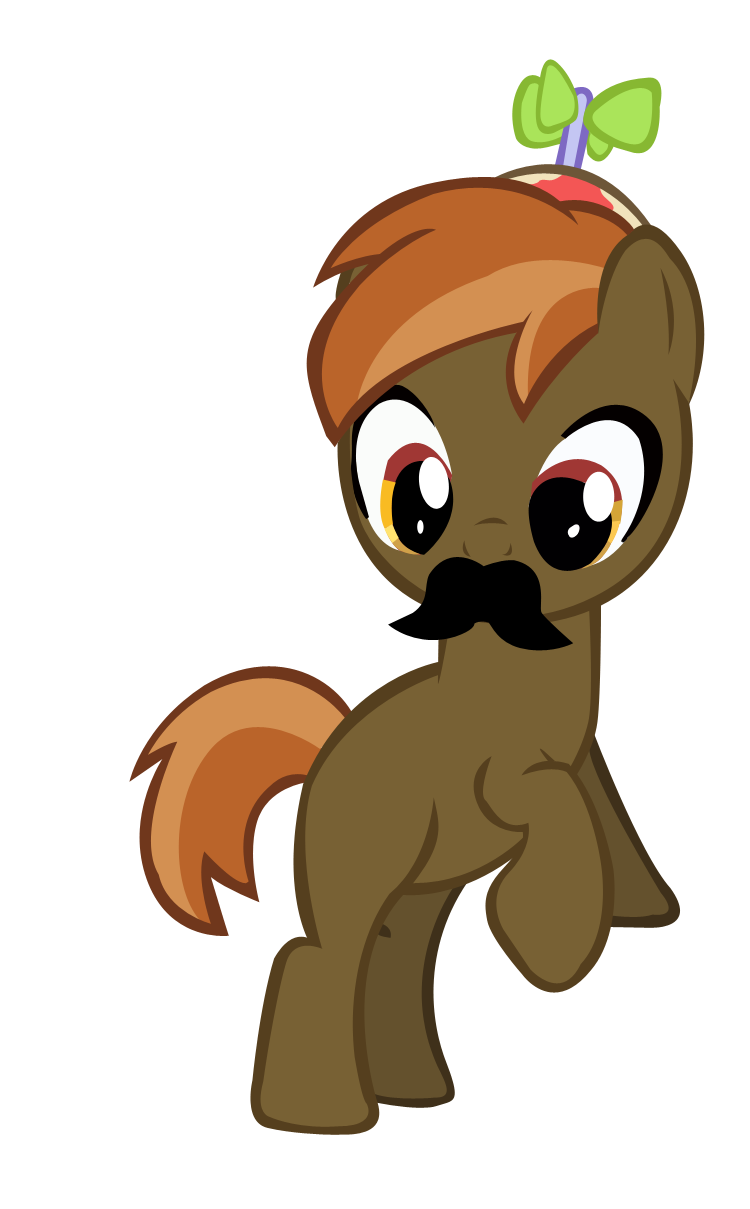 Button Mash 'Stache' Vector by KyoshiTheBrony on DeviantArt