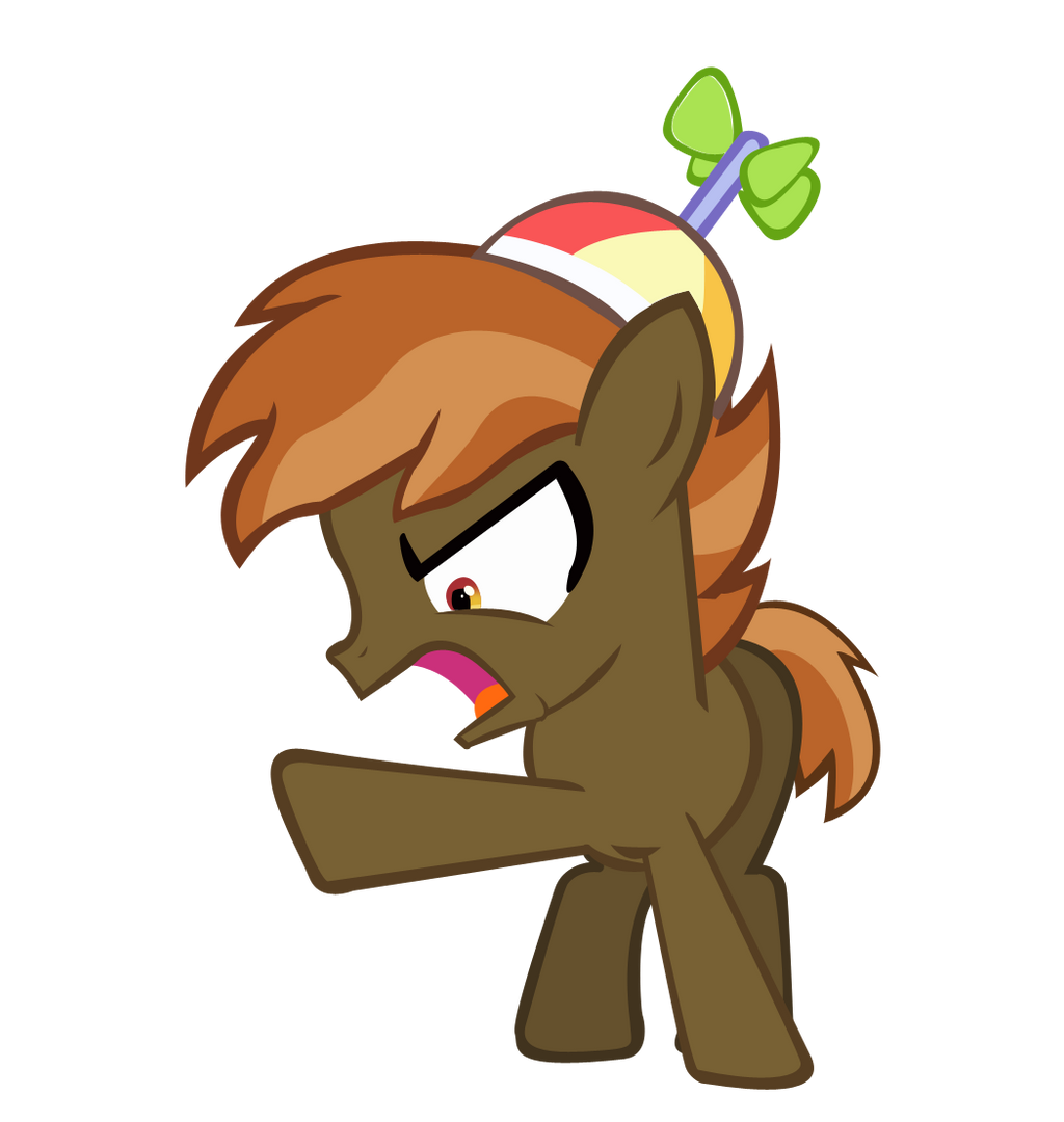 AWAY WITH YOU! (Button Mash Vector) by KyoshiTheBrony on ...