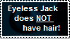 STAMP: Eyeless Jack does NOT have hair! by BoomBuzz