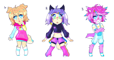 .CHIBI ANTHRO ADOPT AUCTION POINTS (CLOSED). by ElectricDiva
