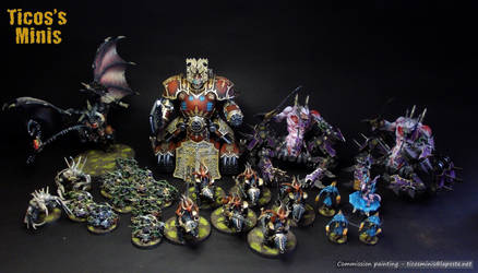 Chaos army commission part 2 by Hortarr