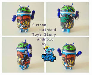 Toys Story theme custom Android by KakenC