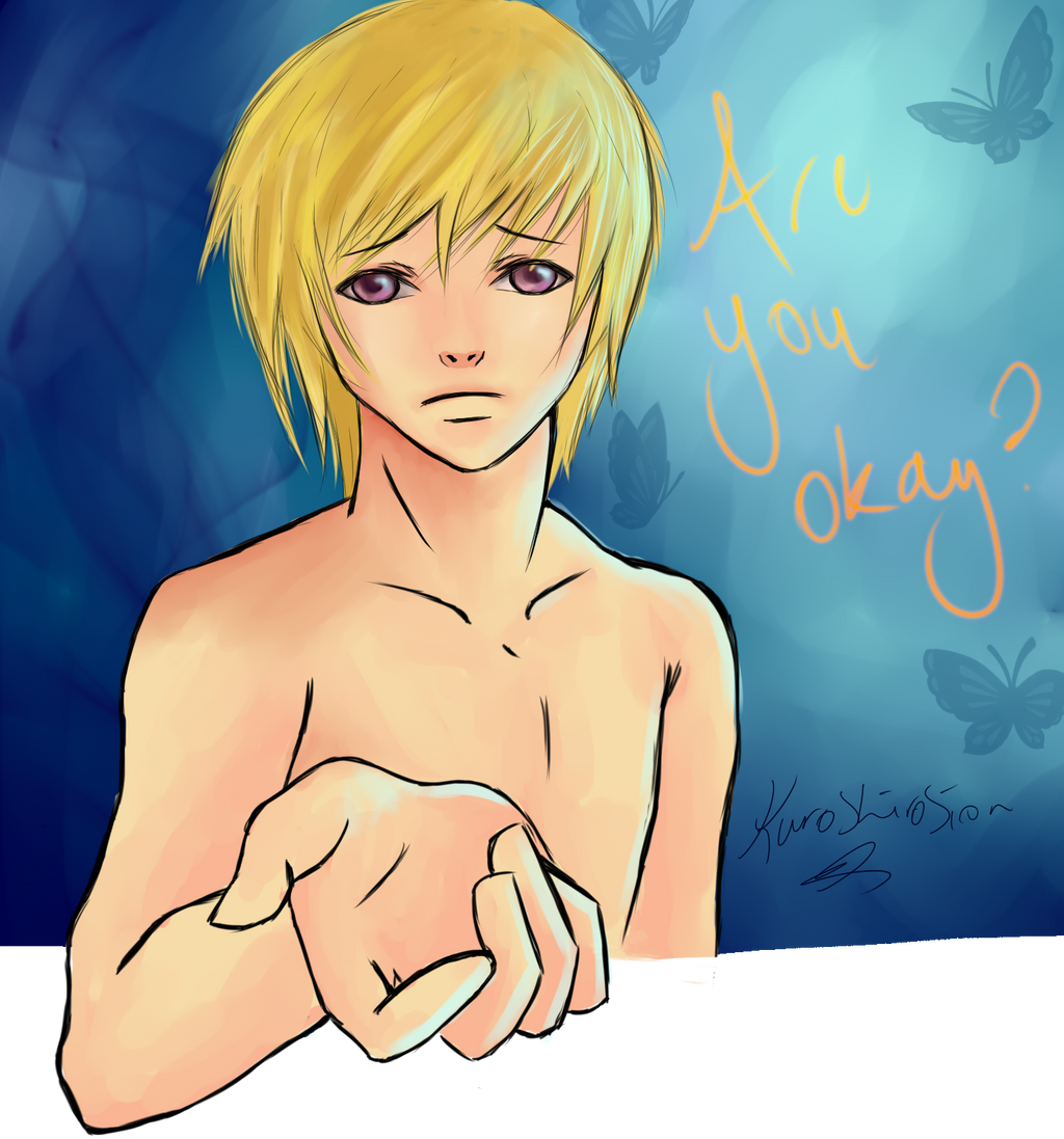Are you okay? RUOK Day by Laurir