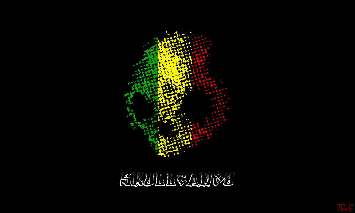 Skullcandy Wallpaper Rasta By Tarbob123456