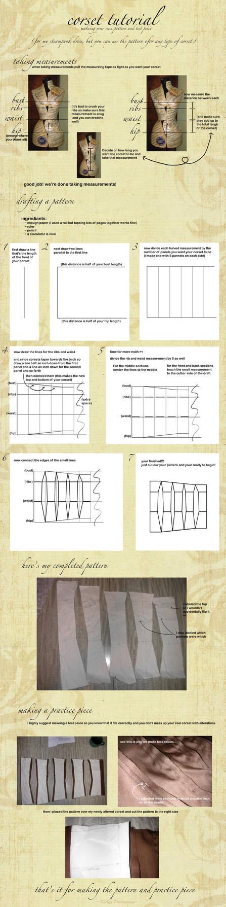 Corset Pattern Drafting Tutorial