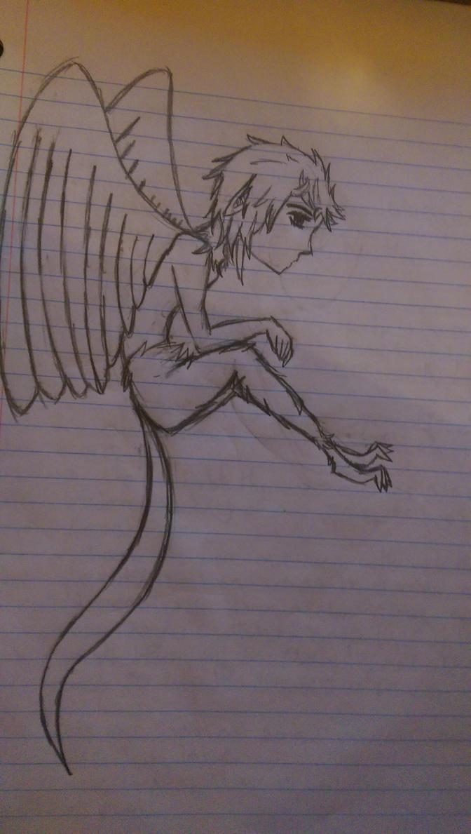 Male Harpy by mysd7