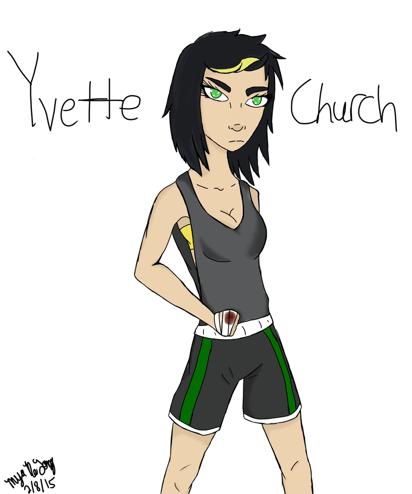 Yvette Church by mysd7