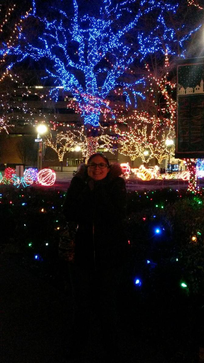 Me At Ogden Xmas Village 2014 #2 by blah1200 on DeviantArt
