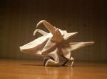 Origami Zerg Zergling