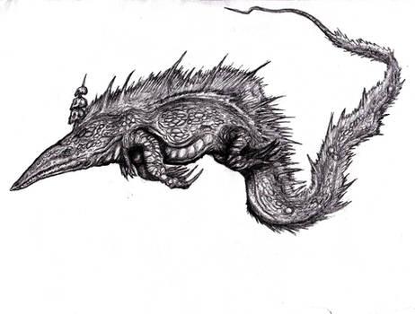 Lovecraft - Bokrug, the Great Water-Lizard