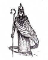 Lovecraft - Nyarlathotep, Pharaoh, Crawling Chaos by KingOvRats