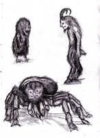 Lovecraft - Dreamlands' Fauna I by KingOvRats