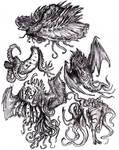 Lovecraft - Azathoth's Court Musicians