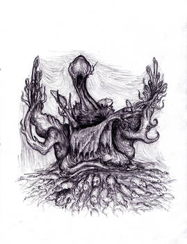 Lovecraft - Nyarlathotep, Mad Faceless God