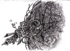 Lovecraft - Azathoth, Blind Idiot God by KingOvRats