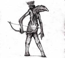 Lovecraft - Venusian Man-Lizard by KingOvRats
