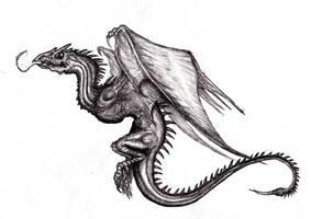 Dragon, Wyvern IV by KingOvRats