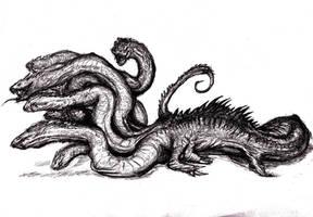 Lernean Hydra by KingOvRats