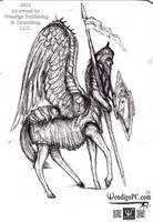 Pegasus Centaurus Knight for WendigoPC by KingOvRats