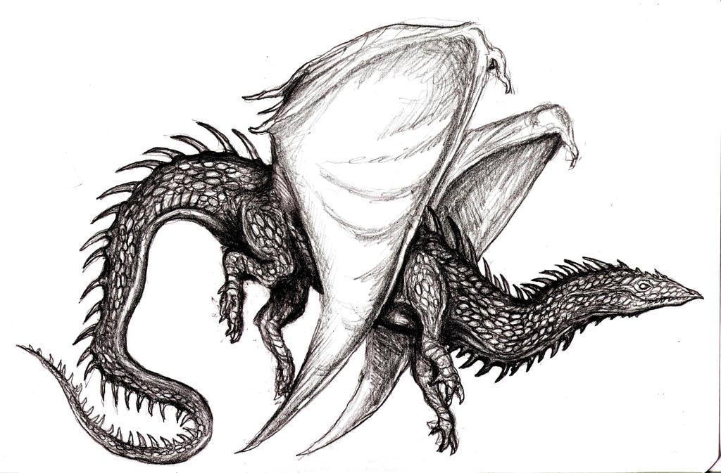 Winged Dragon VIII by KingOvRats