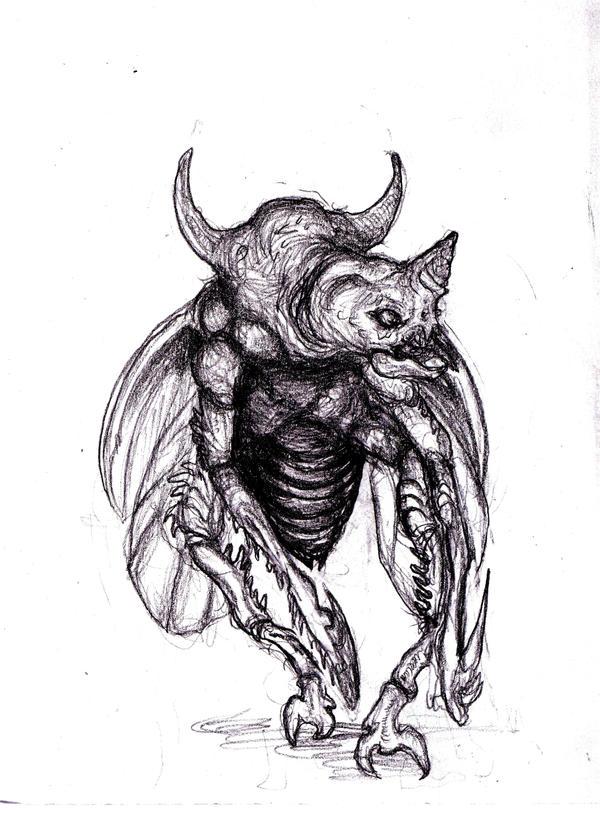Diablo II - Scarab Demon by KingOvRats