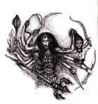 Dark Mother Kali