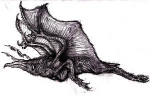 Lovecraft - Byakhee VI by KingOvRats